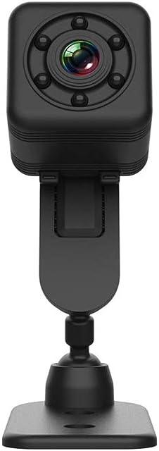 Candicely Cámara de Acción Impermeable Deportes WiFi de la cámara de Infrarrojos 30M Oscuro 6 Luces de la visión Nocturna visualización Continua Durante 4 Horas (Color : Black Size : One Size)