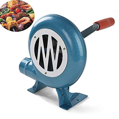 Kochen im freien BBQ Gebläse Luft Für Grill Feuer Balg Handkurbel Werkzeug für Picknick Camping Herd Zubehör Für Picknick Camping,c200w