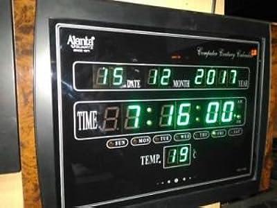 Ajanta Quartz LED Clock (OLC-104)