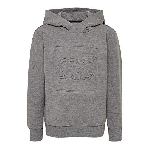 Lego Wear Jungen LWSIAM 762-SWEATSHIRT Sweatshirt, Grau (Grey Melange 921), (Herstellergröße: 134)