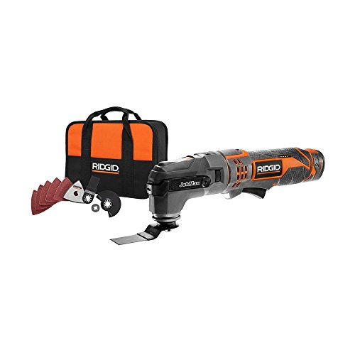 Best Price Ridgid ZRR9700 12V Cordless JobMax Multi-Tool with Tool-Free Head (Renewed)