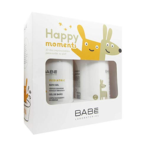 Babe Pediatric Pack Gel Bath 500ml + Moisturising Body Milk 500ml