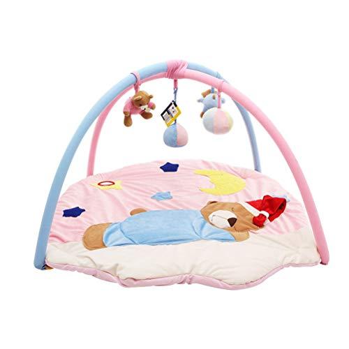 QUD Tapis et moquettes Super Soft bébé Jeu Baby Blanket Game Pad Mignon Crawling Toy Pad Facile à Transporter en Poids (90 * 90 * 50cm) 19/12/30