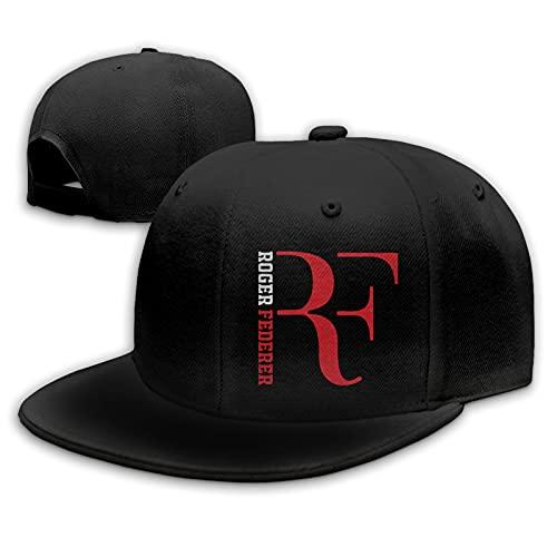 Roger Federer F Logo Baseball Cap Männer Frauen Mode verstellbare Baseballmütze Hysteresenhut Hip Hop Flat Bottom Caps