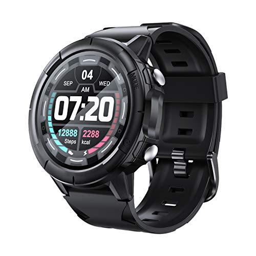 Arbily Smartwatch Hombre, Reloj Inteligente con Pantalla Tátil Completa, Reloj Deportivo Impermeable IP68, Reloj Digital Fitness Tracker para Android iOS Huawei Samsung Xiaomi