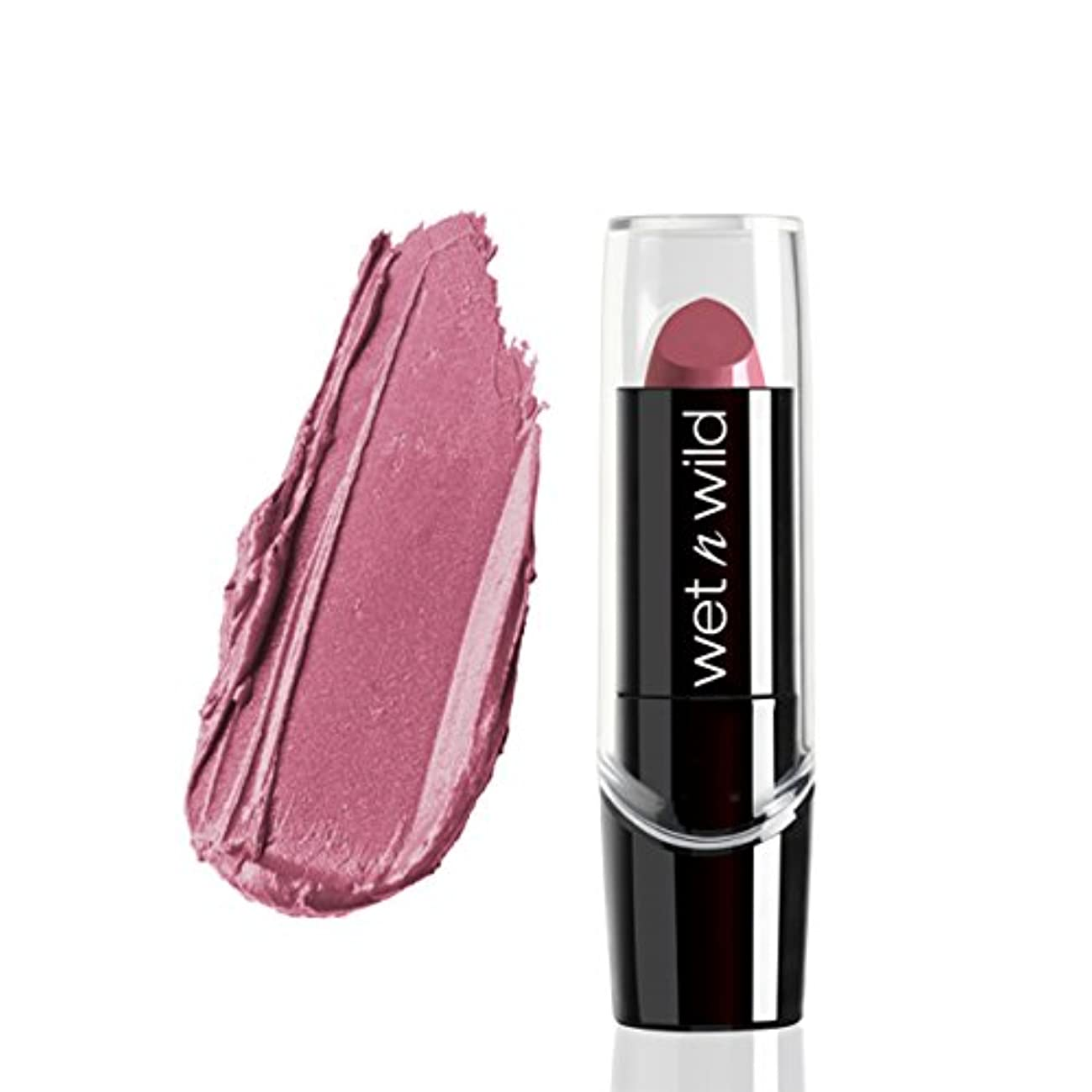 平行コンテンポラリーいくつかの(3 Pack) WET N WILD Silk Finish Lipstick - Secret Muse (並行輸入品)