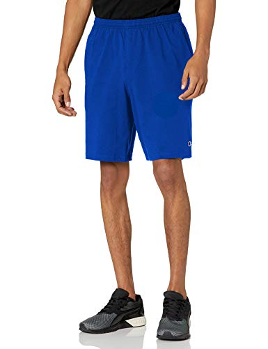 Champion Men's Jersey Short with Pockets, Surf The Web, Small