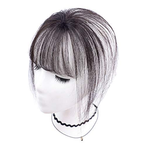 Clip in Pony, Haarverlängerung Haarteil, Stirnfransen Haarteil Haarverlängerung für Alltag Cosplay