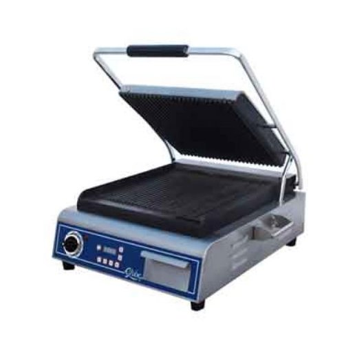 Fantastic Deal! Globe Sandwich Panini Grill Single Countertop Electric GPG14D