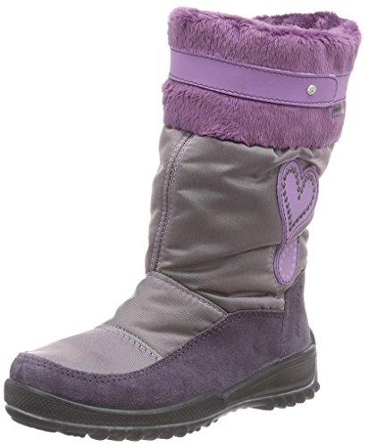 Ricosta Ranki, Mädchen Stiefel, Violett (amethyst/purple 369), 33 EU (1 Kinder UK)