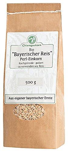 Chiemgaukorn Bio Perl-Einkorn / Bayerischer Reis 500 g