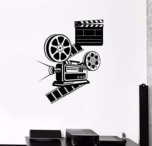 hetingyue Liefhebbers film slaapkamer decoratie bioscoop woonkamer verwijderbare vinyl muursticker kunstwand poster mooie decoratie