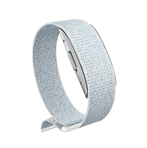 Amazon Halo Band – Measure how you move, sleep, and sound – Designed with privacy in mind - Winter + Silver - Medium