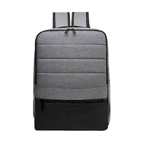 Waterproof Anti Theft Laptop Backpack with USB Charging Port College Student Rucksack Business Backpack for Women Men Light Grey