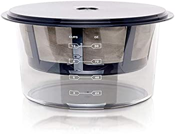 Euro Cuisine GY60 Greek Yogurt Maker with Ultra Fine Mesh Stainless Steel Strainer Basket