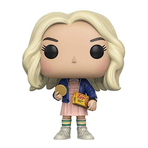Bobblehead POP 421 .TV: Stranger Things-Hembra figura coleccionable, Multicolor