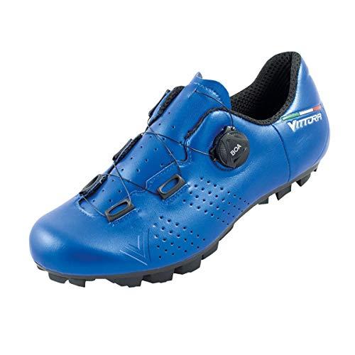 Vittoria Alisè BOA MTB Cycling Shoes (Blue, 42 EU/8.5 D US)