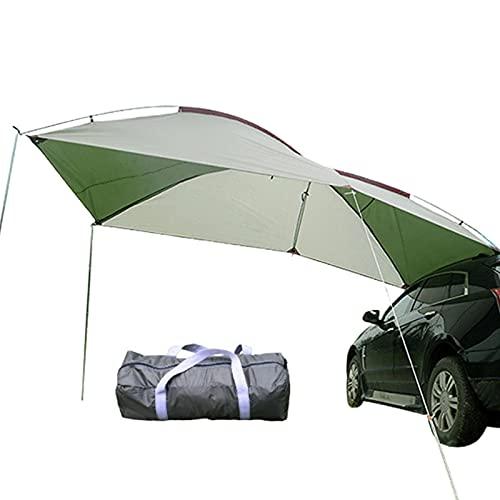 Rubeyul Autozelt Sonnendach für Campingbus, Bus Vorzelt Wohnwagen Markise Sonnensegel Wasserdicht, Outdoor Truck Canopy Sun Shade Regensichere Plane Für Camping