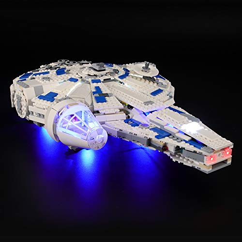 BRIKSMAX Led Lighting Kit for Kessel Run Millennium Falcon - Compatible with Lego 75212 Building Blocks Model- Not Include The Lego Set