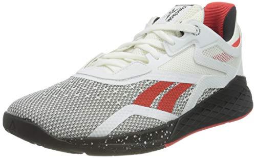Reebok Nano X, Zapatillas de Deporte Mujer, Blanco/Negro/INSRED, 37 EU