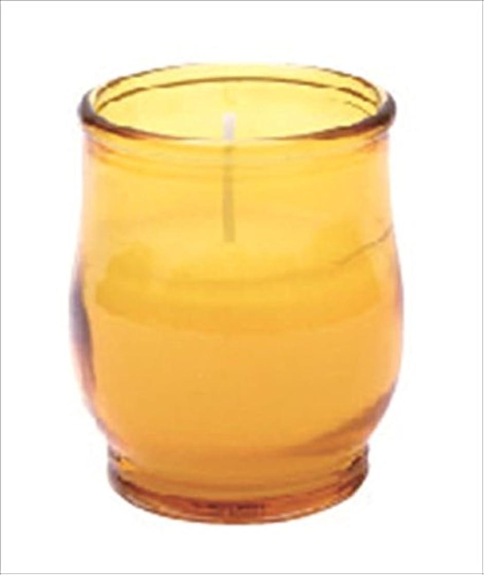 怒る宿泊施設不機嫌kameyama candle(カメヤマキャンドル) ポシェ 「 アンバー 」 キャンドル 68x68x80mm (73020040AM)