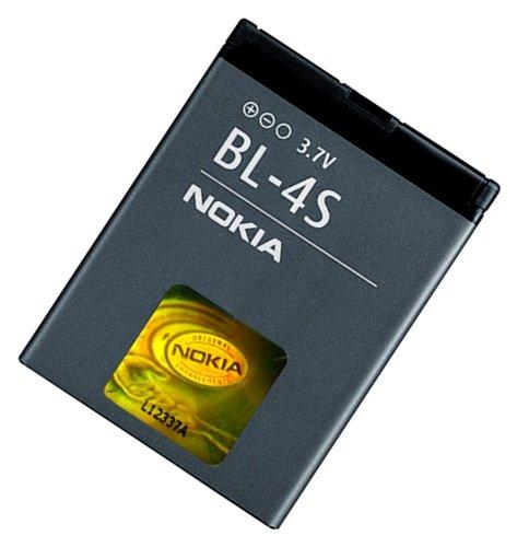 Nokia Batteria Originale BL-4S (V/860mAh/3.2WH) Li-Ion Tecnologia Anti Effetto Memory