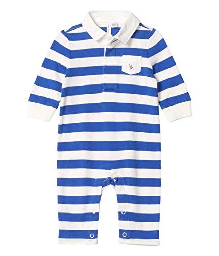 Janie and Jack Baby Boy's Striped One-Piece (Infant) Multi 6-12 Months
