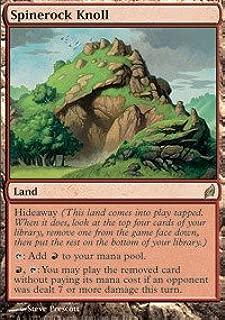 Magic: the Gathering - Spinerock Knoll - Lorwyn - Foil