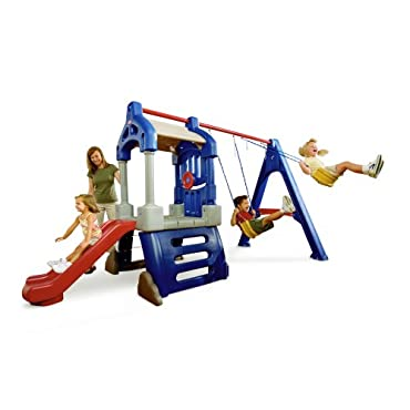 Little Tikes Clubhouse Swing Set 612398