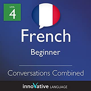Beginner Conversations Combined (French) audiobook cover art