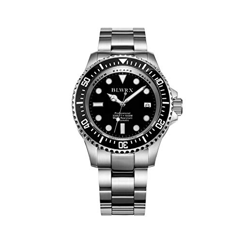 BLWRX Men's 44mm Diving Automatic...
