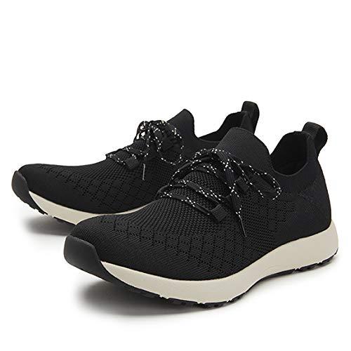 TRAQ BY ALEGRIA Froliq Womens Smart Walking Shoe Black 8-8.5 M US