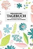 Pädagogisches Tagebuch - Inklusion in Schule und Unterricht: Inklusive Pädagogik leicht gemacht. Wochenplaner 2021 für Lehrer und Erzieher mit Blumen Cover - Notizbuch A5 130 Seiten
