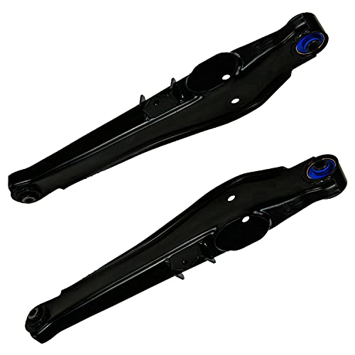 Detroit Axle - Both (2) Rear, Lower Complete Control Arm Assembly for Without Off-Road Suspension for 2007-2012 Dodge Caliber - [2007-2017 Jeep Compass] - 2007 2008 2009-2017 Jeep Patriot