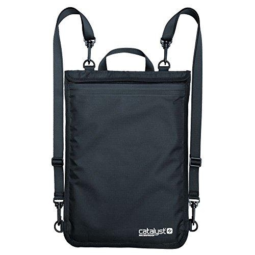 Macbook 9'-11' Waterproof Case, iPad, Laptop Cover, Tablet, Sleeve/Case, Tote, Carrying Bag, Notebook, Macbook Pro Accessories by Catalyst (Black)