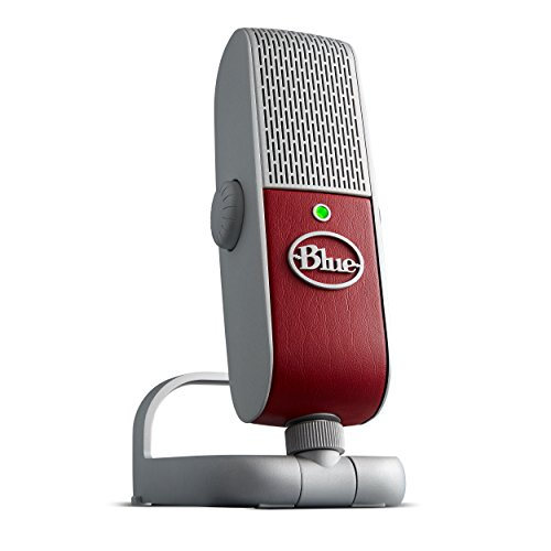 Blue Raspberry Studio Portable USB and Lightning Microphone with Recording Software