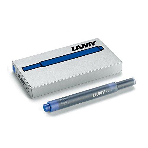 Lamy T10cartuchos de tinta paquetes 5cartuchos, color negro azulado