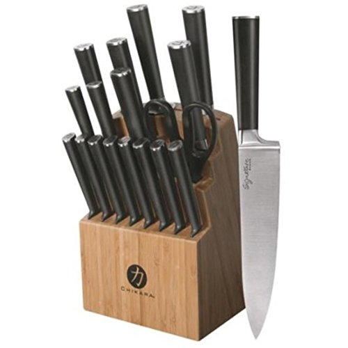Ginsu Chikara Signature Series 19-Piece Cutlery Set