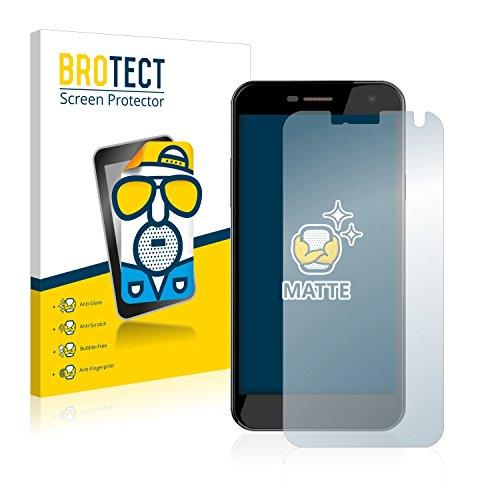 BROTECT 2X Entspiegelungs-Schutzfolie kompatibel mit Wileyfox Spark Bildschirmschutz-Folie Matt, Anti-Reflex, Anti-Fingerprint