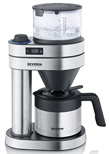 """Severin KA 5761 Filterkaffeemaschine mit Thermokanne """"Caprice"""" silber"""