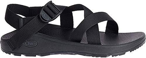 Chaco Men's Zcloud Sport Sandal, Solid Black, 11 M US