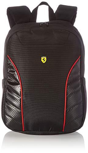 Ferrari unisex-adult x Scuderia Rucksack, 38,1 cm (15 Zoll) rot/schwarz, 6''