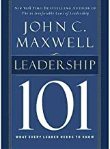 Leadership 101 by Maxwell, John C. ( Author ) ON Aug-01-2002, Paperback