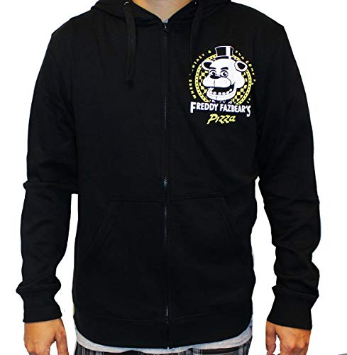 FIVE NIGHTS AT FREDDY'S Freddy Fazbear's Pizza Adult Hoodie Small