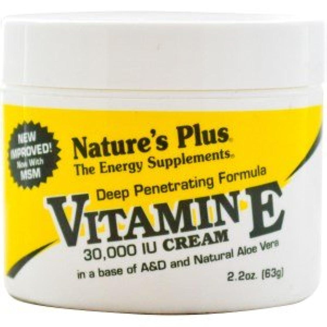 概してグレード受ける[海外直送品] ネイチャーズプラス(Nature's Plus) ビタミンEクリーム 30,000IU 63g