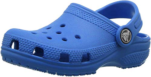 Crocs Kids' Classic Clog | Slip On Shoes for Boys and Girls | Water Shoes, Bright Cobalt, J5 US Big Kid