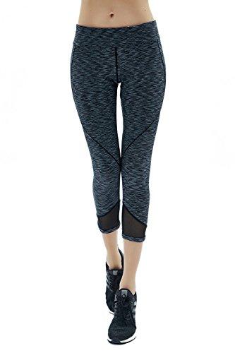 HAIVIDO Women's Yoga Pants Moisture-Wicking Legging Yoga Running Workout Sports Capris