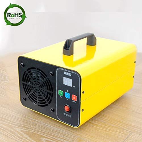 Generador de ozono comercial, 5000 mg/h, generador de ozono industrial, eliminador de olores, purificador de ozono, dispositivo de ozono con temporizador