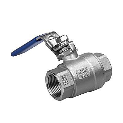 "3/4"" 2PC Ball Valve Female Stainless Steel SS 304 NPT from Cowin Metal"