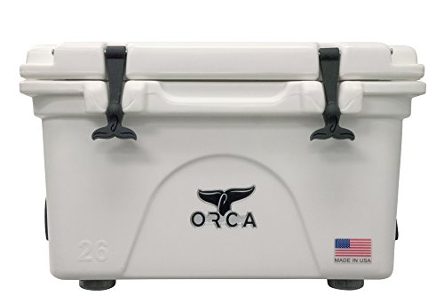 ORCA BW0260ORCORCA Cooler, White, 26-Quart